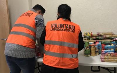 Carabanchel ayuda a más de 50 familias con productos de primera necesidad