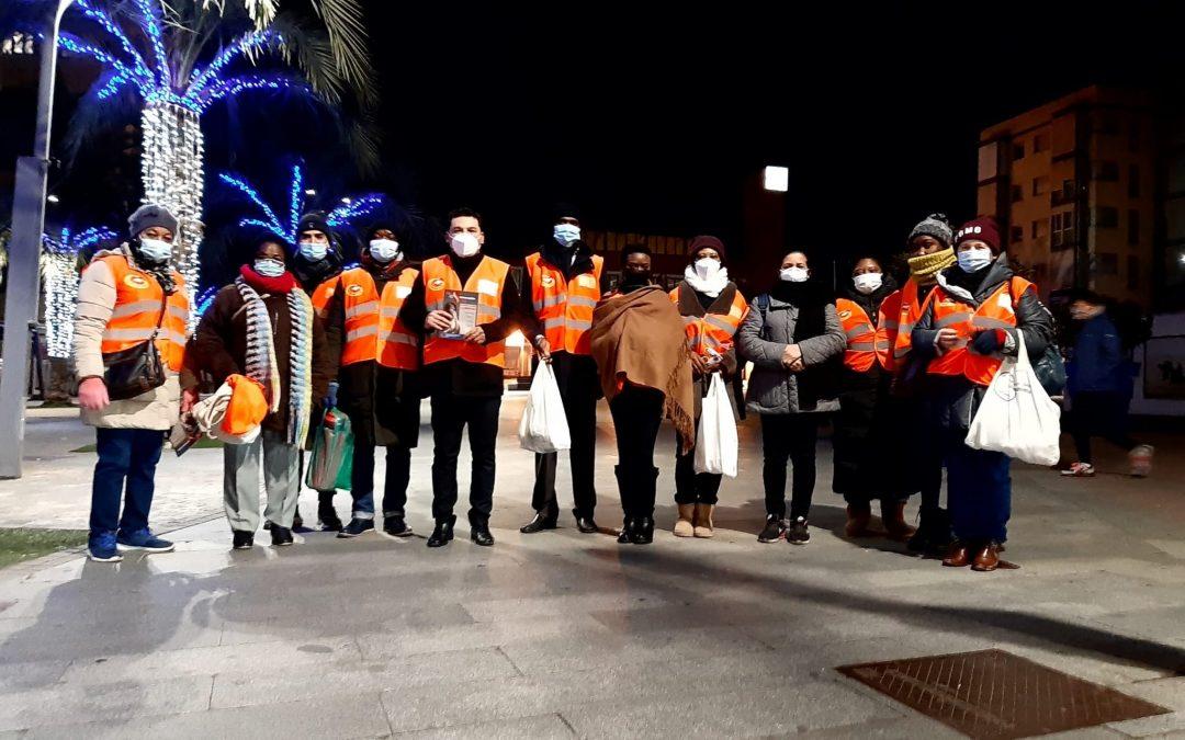 LMQA volunteers in Alcalá visited the residents of Torrejón de Ardoz