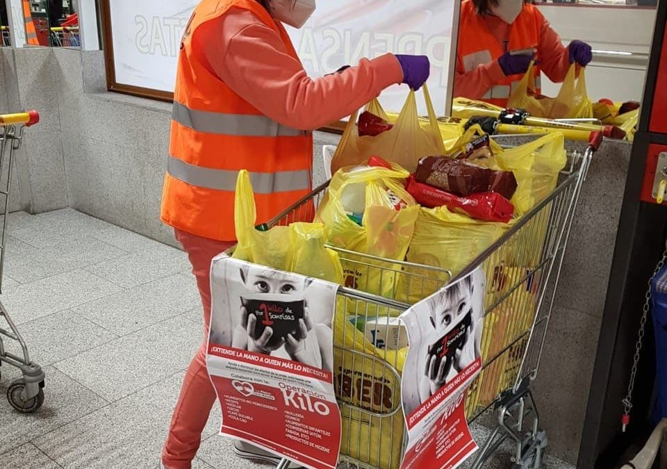 LMQA volunteers work weekly on Food Collection Campaigns