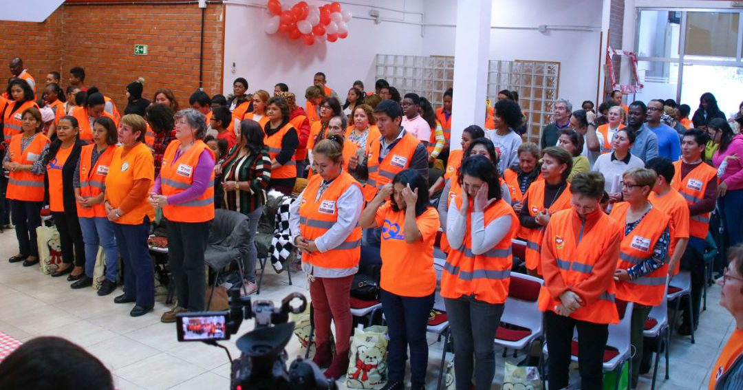 La Mano que Ayuda recognizes the work of its volunteers